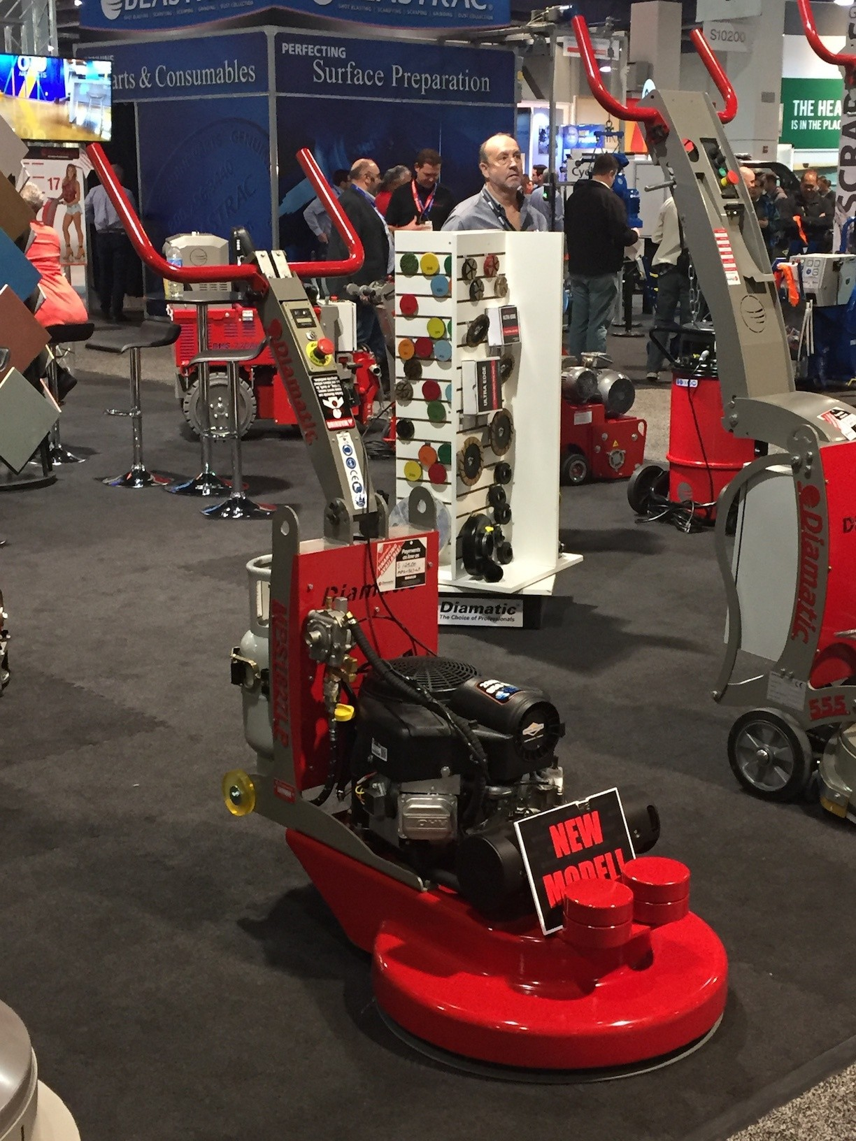 World of Concrete kicks up the dust