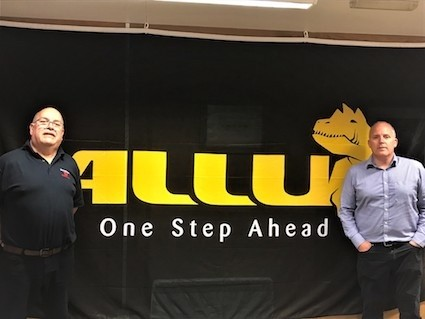 Murray Plant appointed ALLU's exclusive dealer for the UK
