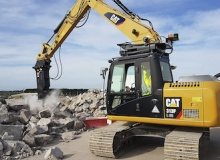 New Cat GC S series hydraulic hammers