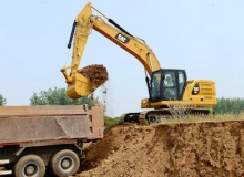Three new Cat excavators