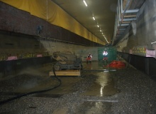 Conjet Robot plays its part renovating Europe's first sunken-tube tunnel