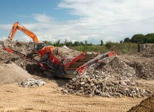 Sandvik at Demolition Expo
