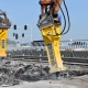 Three bridges demolished in 48h using Epiroc heavy hydraulic breakers
