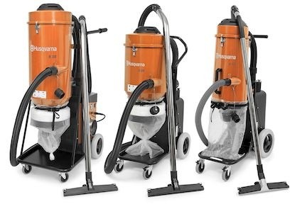 Husqvarna air scrubbers and HTC Duratiq grinders clean the way