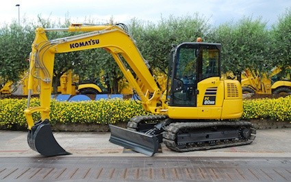 New PC80MR-5 midi excavator