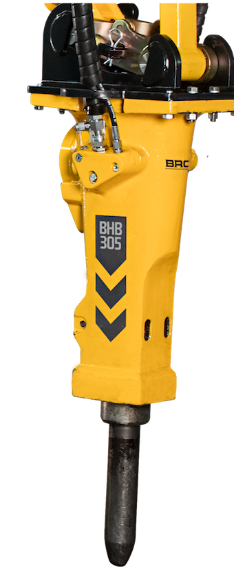 Brokk introduces a new line of hydraulic breakers