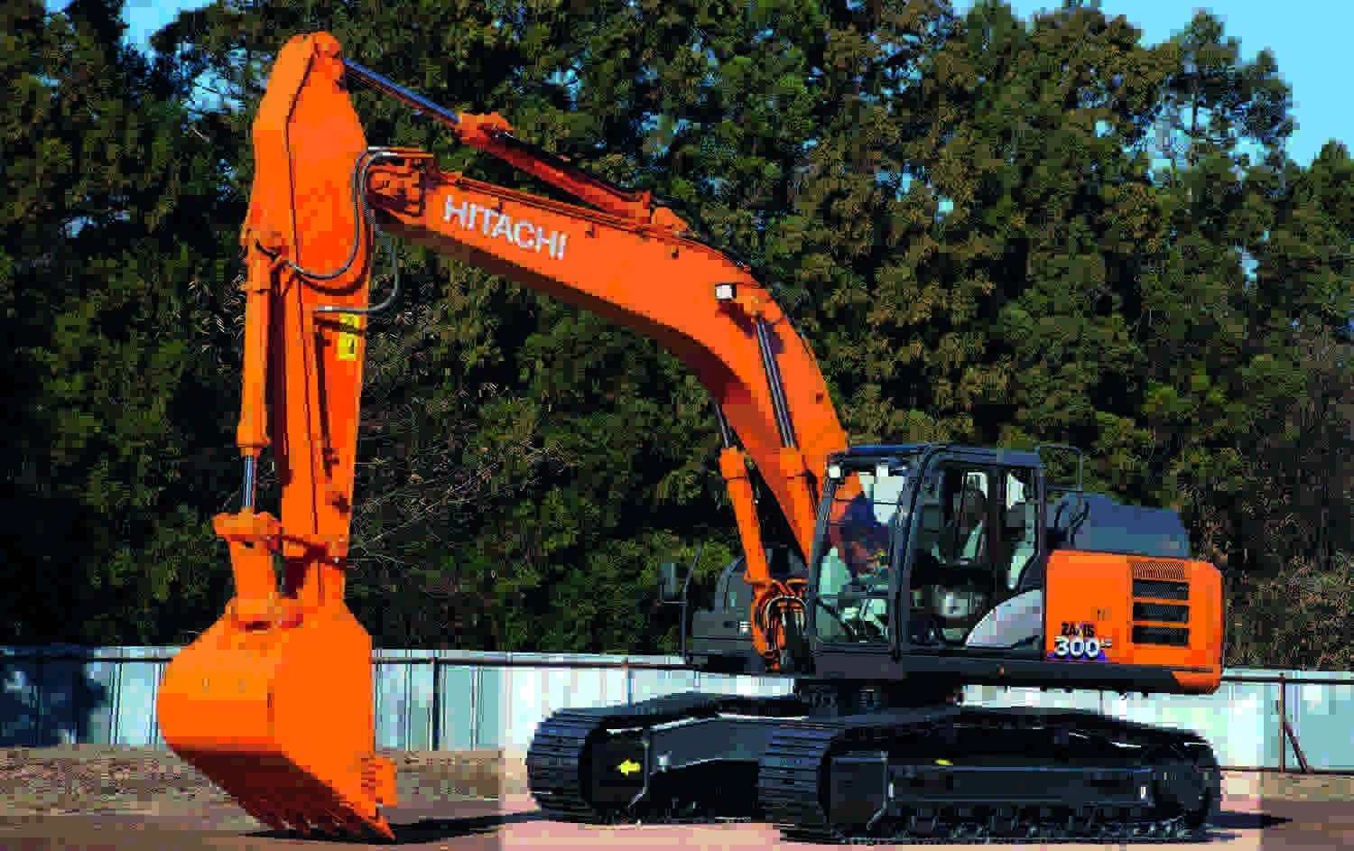 Hitachi's first Zaxis-6 excavator in Europe