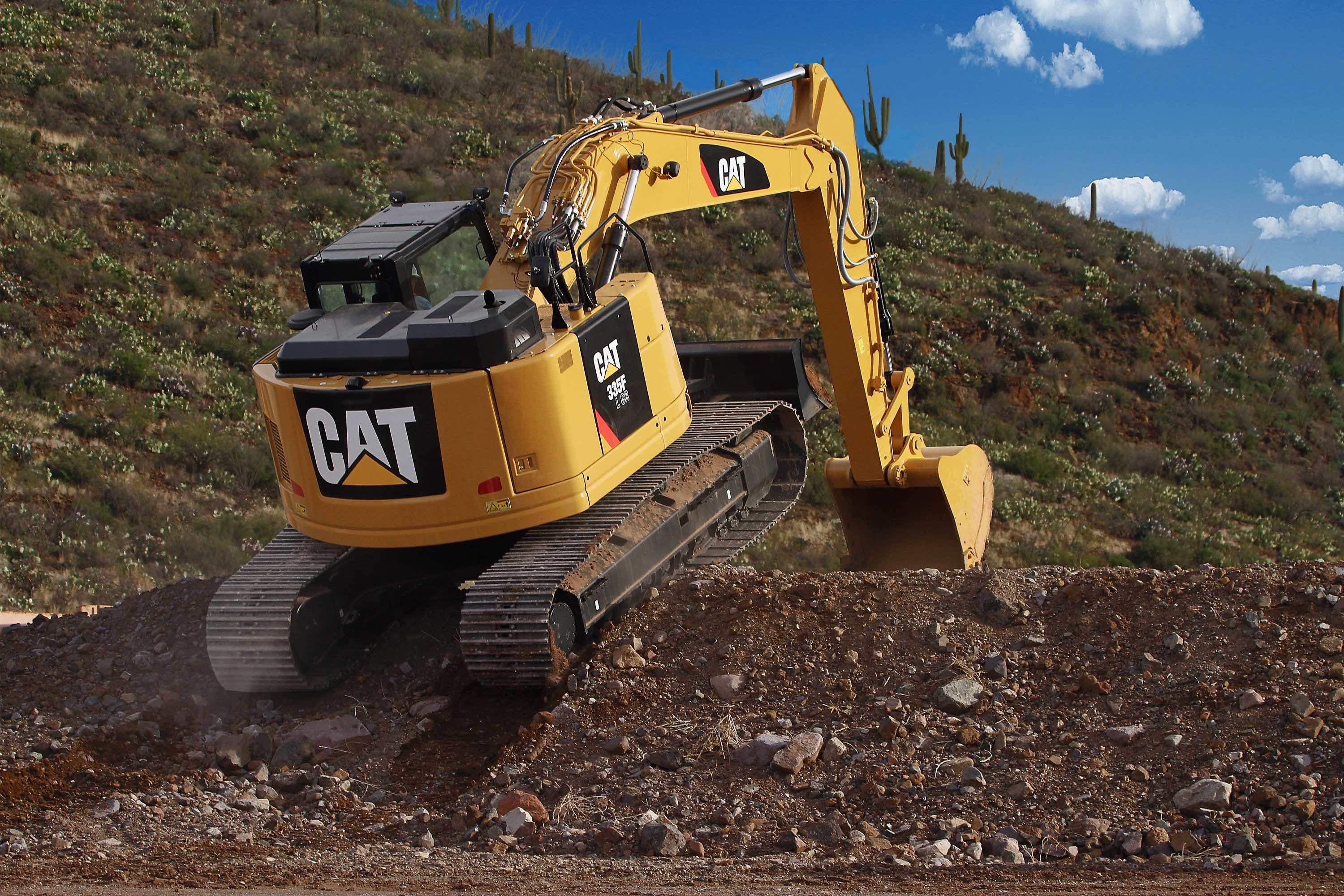New Cat 335F L CR excavator