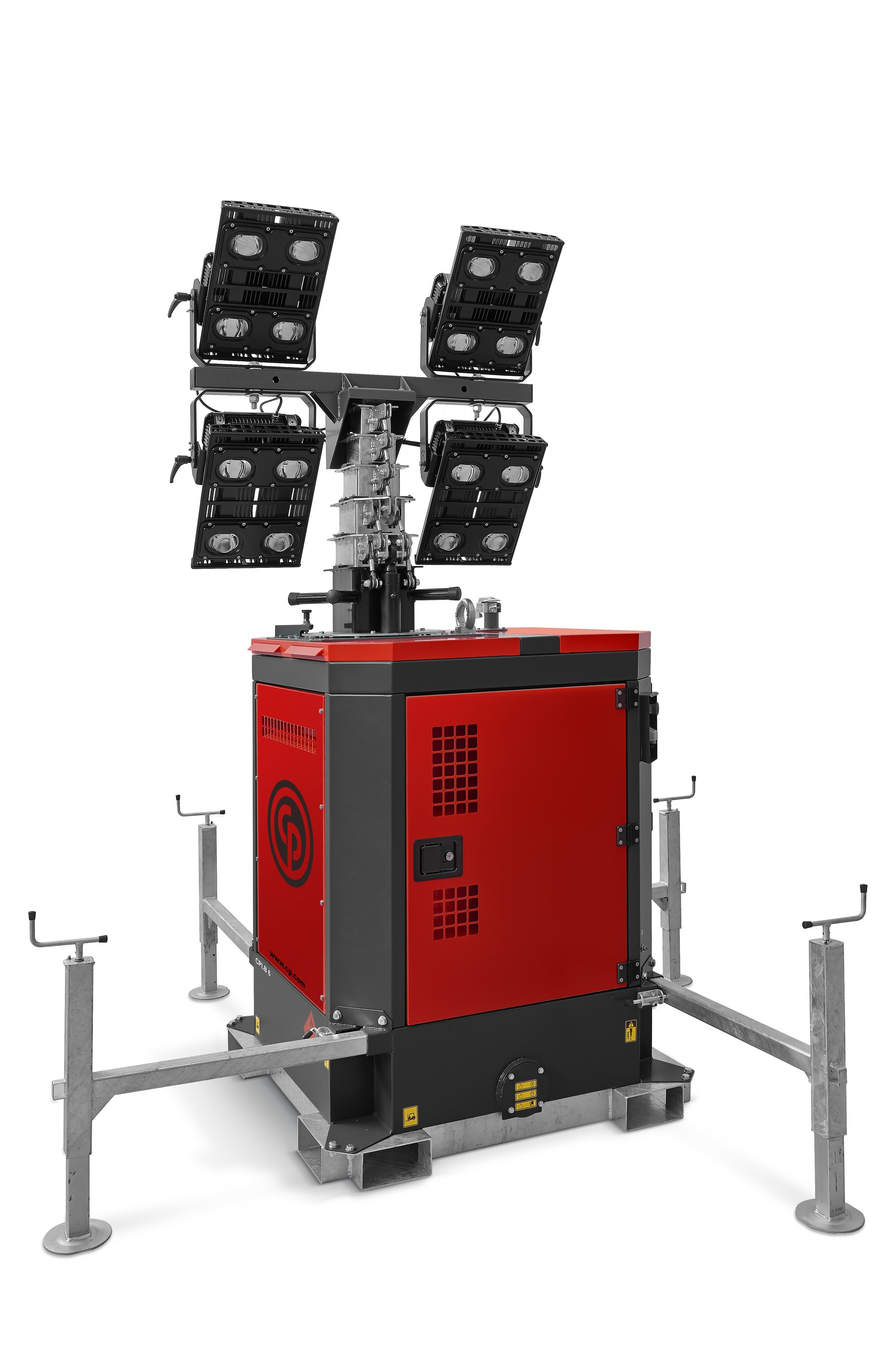 Chicago Pneumatic unveils LED lighting tower