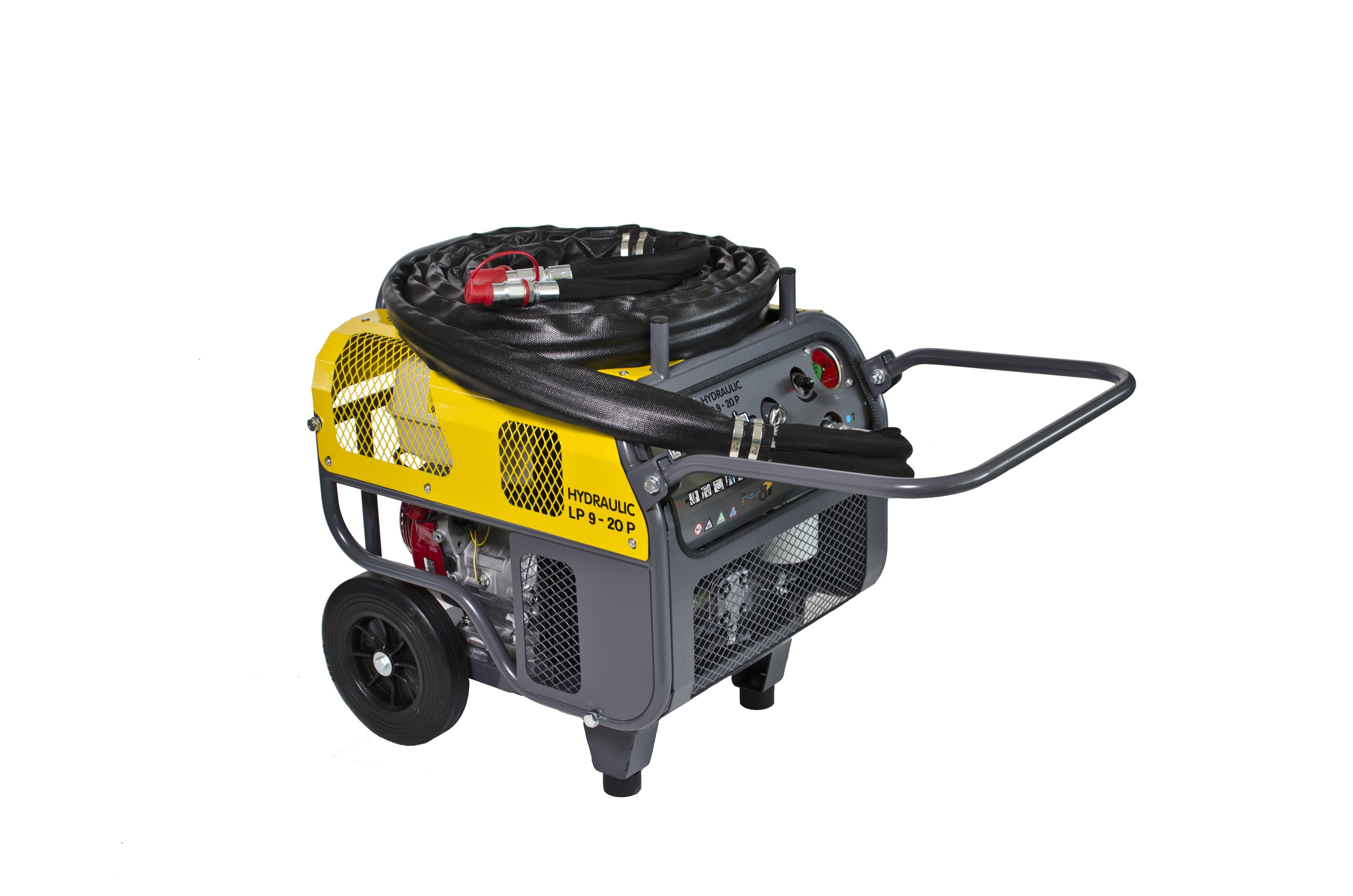Atlas Copco updates LP9-20 Hydraulic Power Pack
