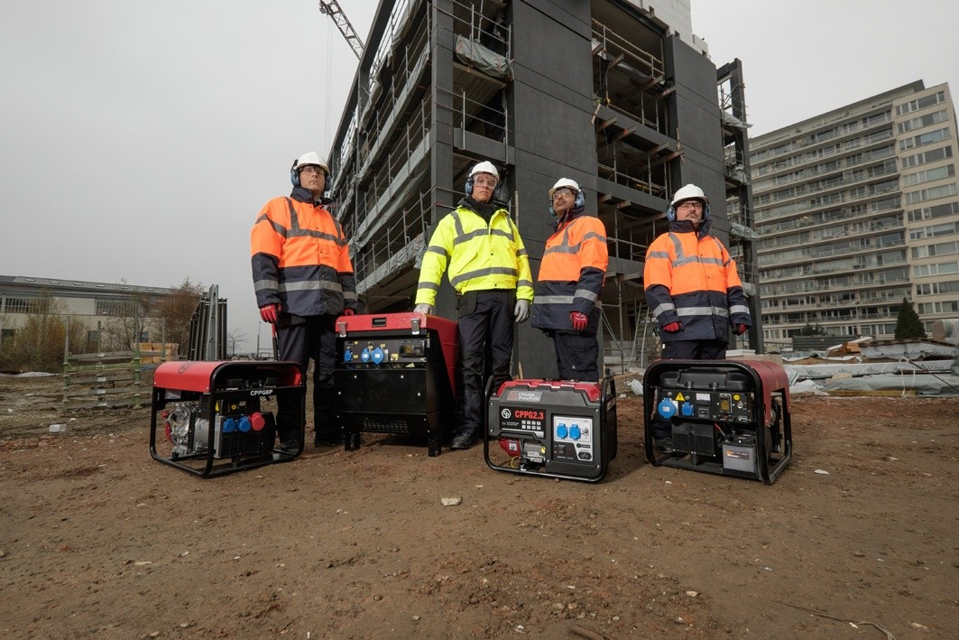 Chicago Pneumatic launches new portable generators