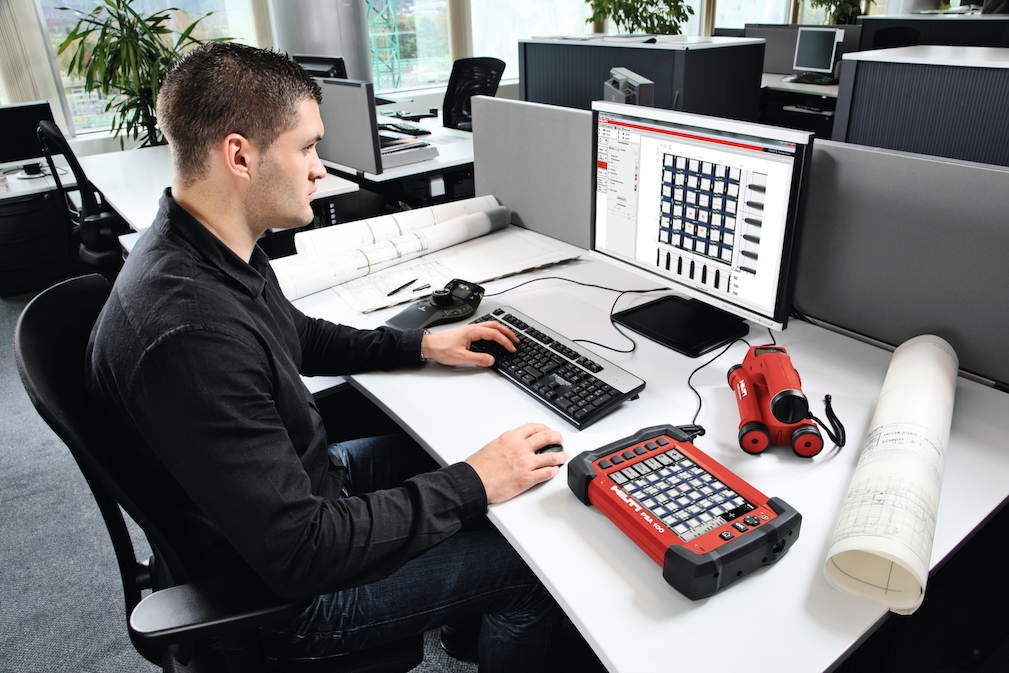 New Hilti detection software