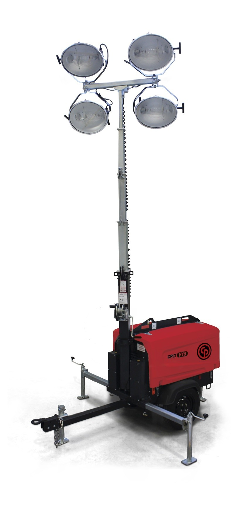 Chicago Pneumatic's new light towers