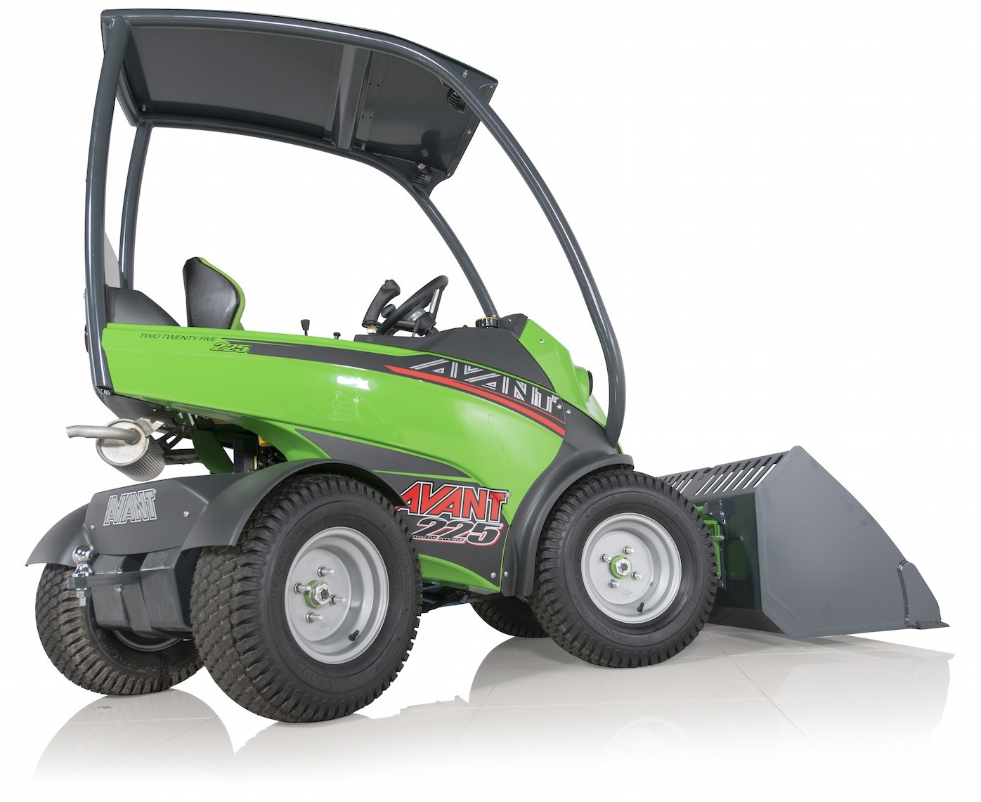 Avant Tecno presents new loader