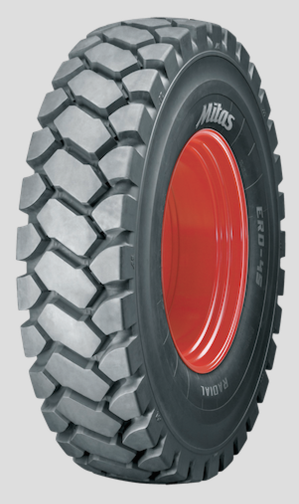 New Mitas tyre for dump trucks