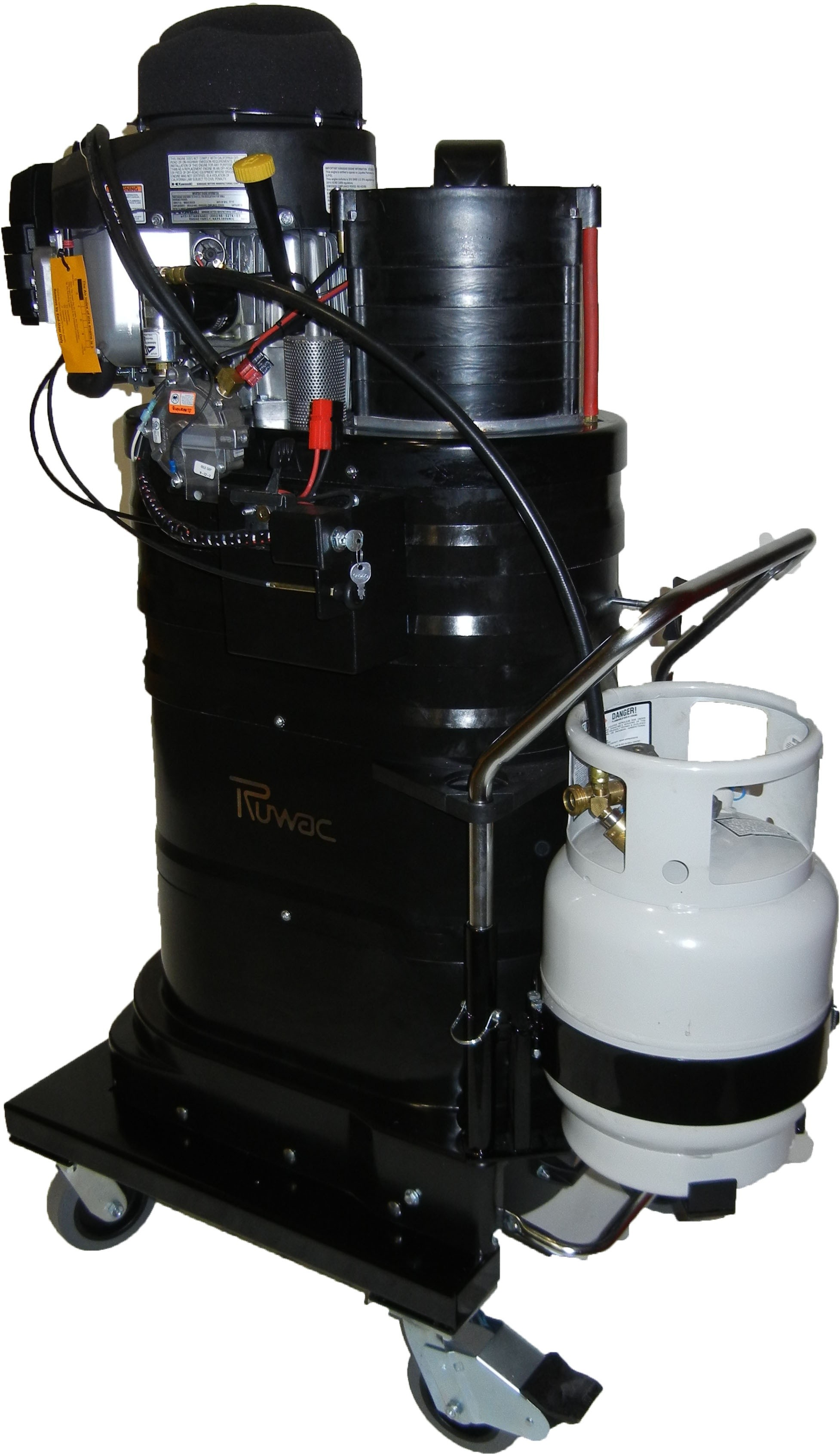 New dust extraction equipment