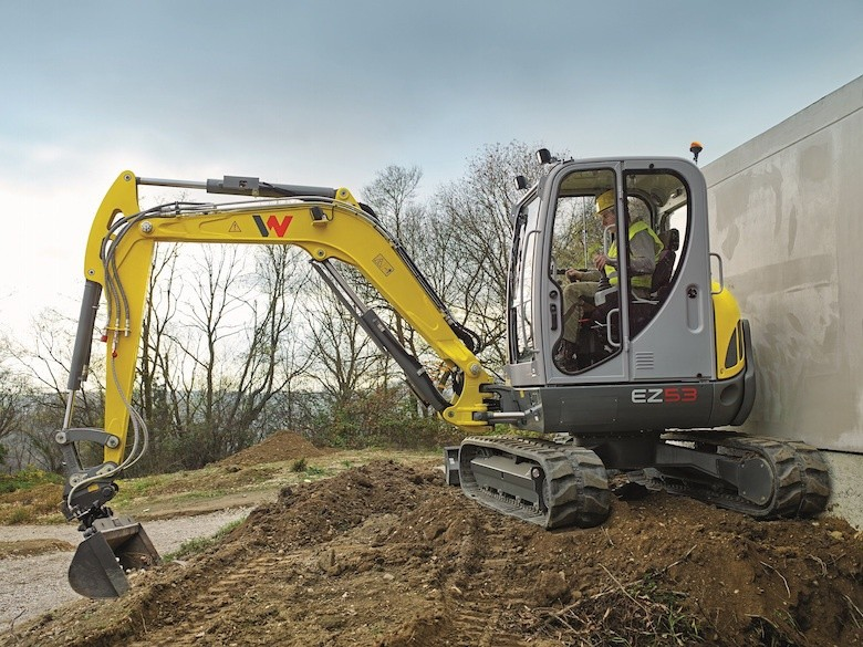 Go small, work big with mini and compact excavators