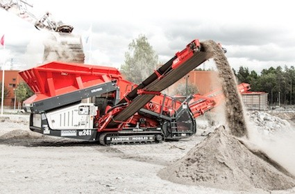 Ståhl-Fredh purchases Sandvik QE241 scalper