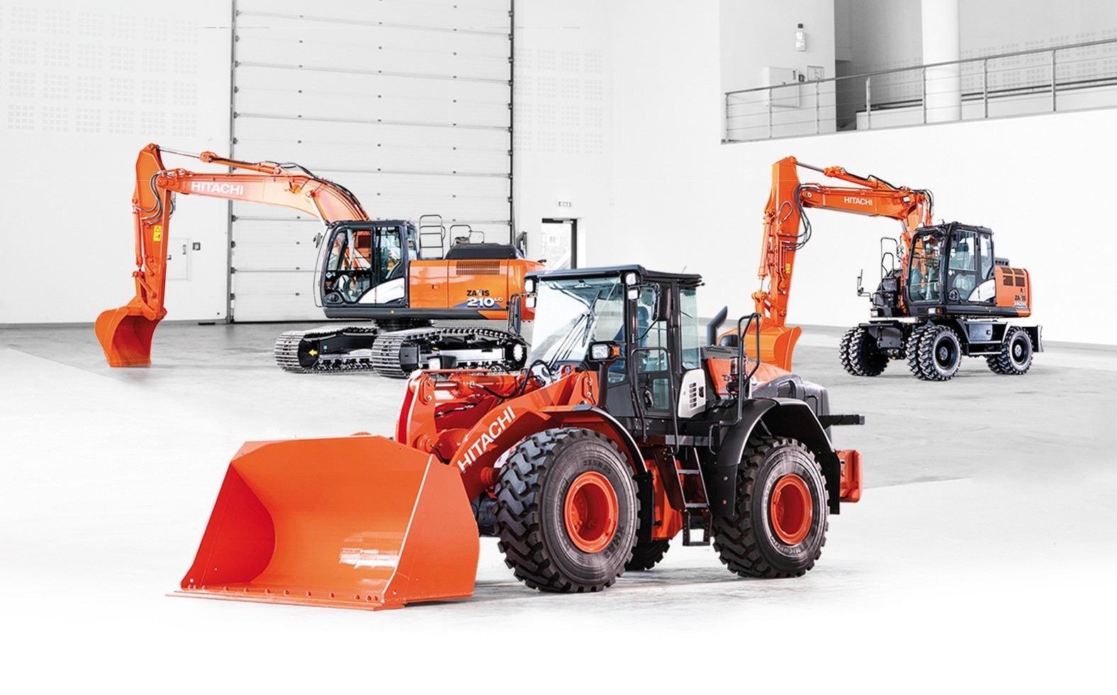 Hitachi extends construction machinery