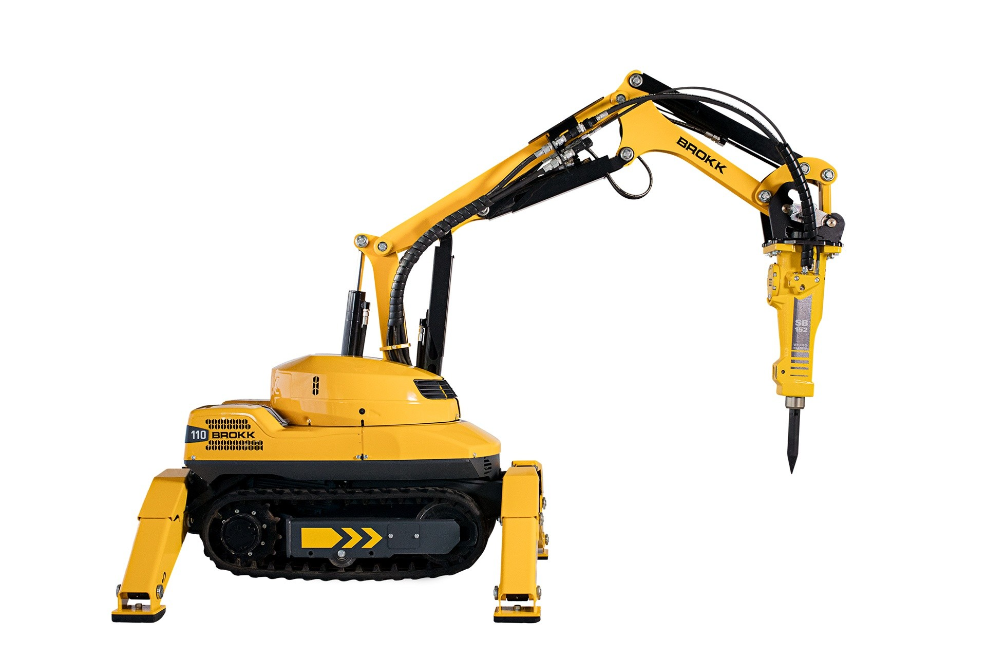 New demolition Robots from Brokk and Top Tec
