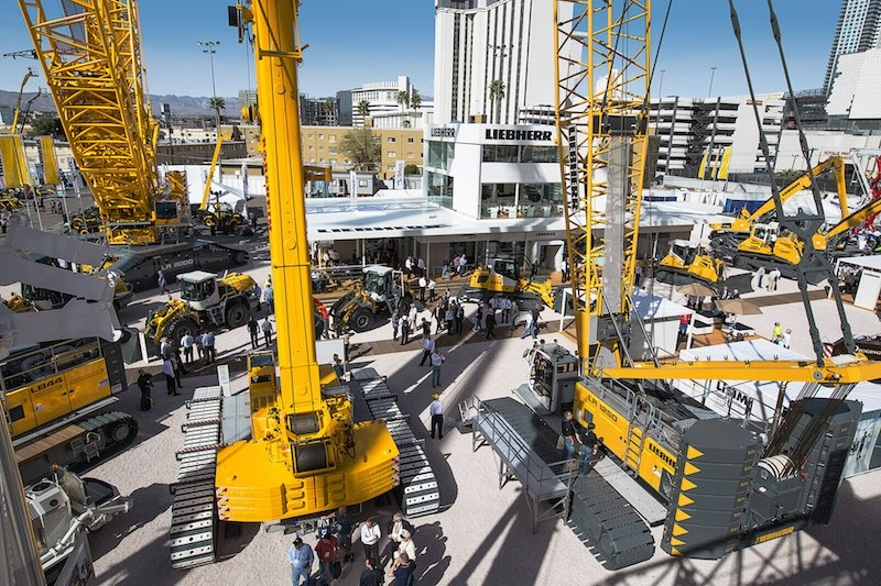 Liebherr at Conexpo