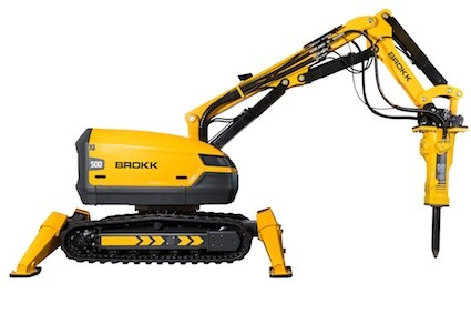 Brokk introduces new 500 robot