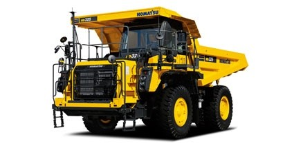 Komatsu introduces new dump trucks