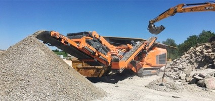 New Rockster Impact Crusher R1000S