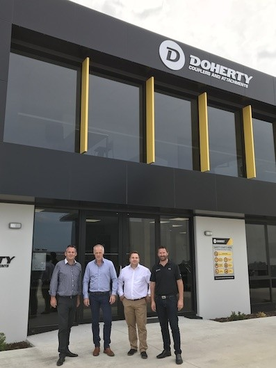 Kinshofer acquires Doherty Group