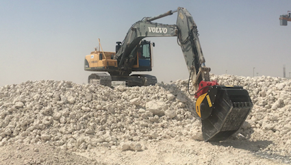 MB Crusher in QATAR