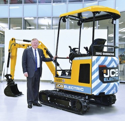 JCB sparks interest with first ever electric digger