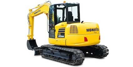 Komatsu Europe introduces new PC80MR-5 midi excavator