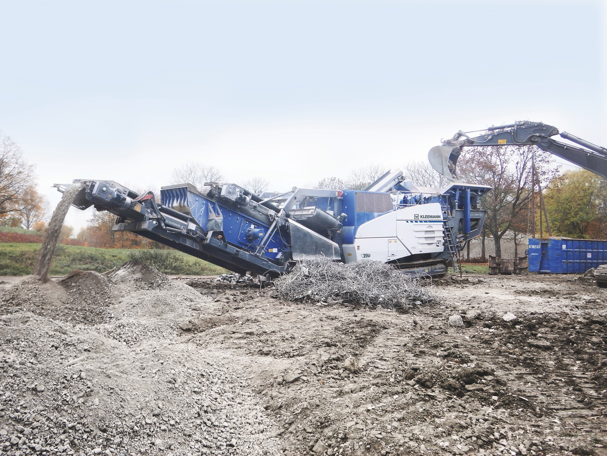 What's new in mobile crushing and screening?