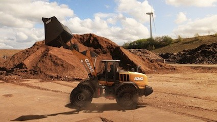 Case extends G-Series waste handler wheel loader range