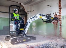 World's first 1t electric mini excavator from Bobcat