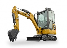 New mini hydraulic excavators