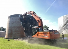 FW Bau Demolition ahead of time with Doosan Excavators