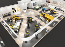 Volvo looks to an electric future at bauma 2019