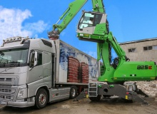 825 E-Series the perfect addition for dismantling, sorting and loading