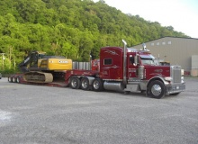 Trailer sizing tips for excavators from Talbert