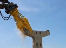 Two new CB 'Concrete Busters' for heavy foundation work and high reach deconstruction