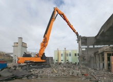 Doosan adds DX530DM to its demolition excavator range