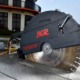 Introducing the AGP C18 brushless concrete saw and DM8P wet drilling motor