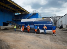 Linz AG put trust in Lindner Miura 1500 with tracked chassis