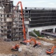 Urban demolition project benefits from atomised mist solution