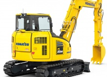 New PC88MR-11 midi excavator