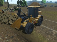 New wheel loader simulator training pack from CM Labs