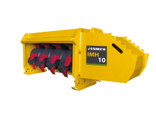 The new range of IMH mulching heads