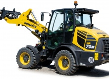 Komatsu Europe launches WA70M-8 compact wheel loader